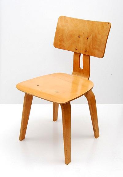 Design Stoelen Utrecht.Botterweg Auctions Amsterdam Wooden Chair Berkenserie Sb 02
