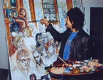 Bildresultat för Ronnie Wood Painting
