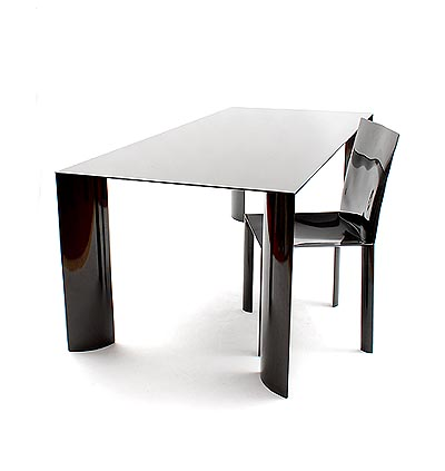 Botterweg Auctions Amsterdam > Table and chair \' Wing \', the first ...