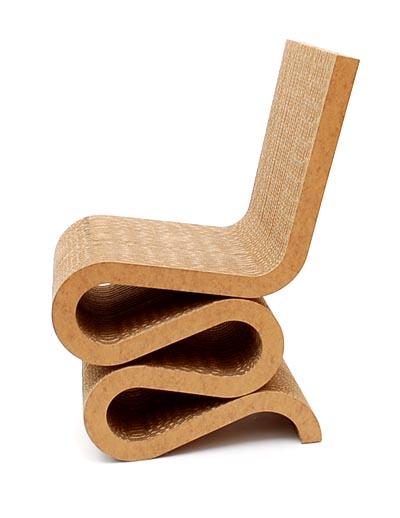 Botterweg auctions amsterdam kartonnen stoel wiggle for Stoel bobois stoel