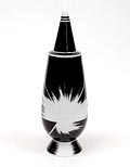 """Alessandro Mendini covered vase """"100% Make-up"""" (no.36), with decoration of Yoshiki Hishinuma (Japan), from the limited series of 100 vases per decor, for Alessi / made in Germany 1992"""